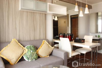 Classic 2BR Apartment At Gateway Pasteur near Exit Toll By Travelio