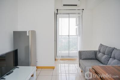 New Furnished 2BR Apartment at Serpong M-Town Residence By Travelio