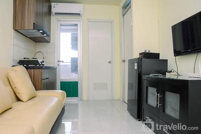 Minimalist Design 2BR Apartment Gading Nias Residence By Travelio