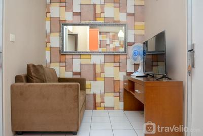Comfortable 2BR at Menteng Square Apartment By Travelio