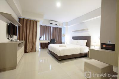 Best Price Minimalist Studio Apartment at The H Residence By Travelio
