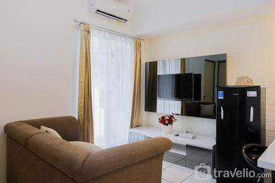 2BR Apartment with Study Room at M-Town Residence By Travelio