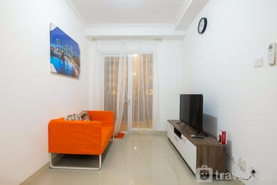 Cozy 2BR Signature Park Grande Apartment MT Haryono By Travelio