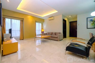 Modern 2BR Apartment at Permata Berlian Residence By Travelio