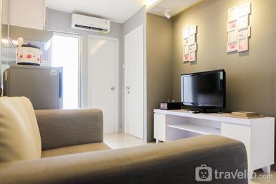 2BR Bassura City Apartment near Shopping Mall By Travelio