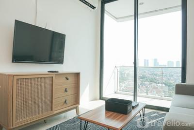 Lavish 2BR Apartment at Veranda Residence @ Puri By Travelio