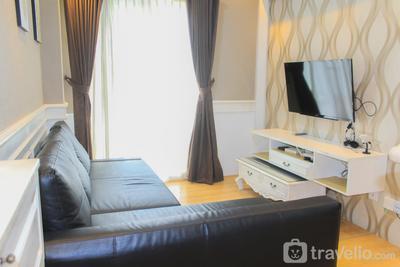Cozy Luxury 2BR Signature Park Grande Apartment By Travelio