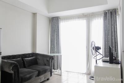 Comfort 2BR Apartment at Bintaro Plaza Residence By Travelio