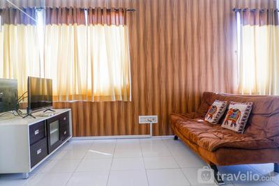 Comfortable 3BR Apartment at East Coast Residence By Travelio