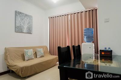 Homey and Comfy 2BR Apartment at Waterplace Residence By Travelio