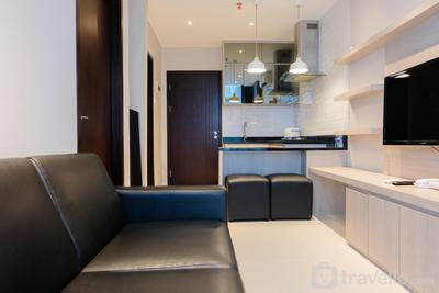 Chic 1BR Brooklyn Apartment near IKEA Alam Sutera By Travelio