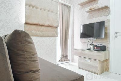 Cozy Stay at 2BR Green Pramuka Apartment near Shopping Center By Travelio