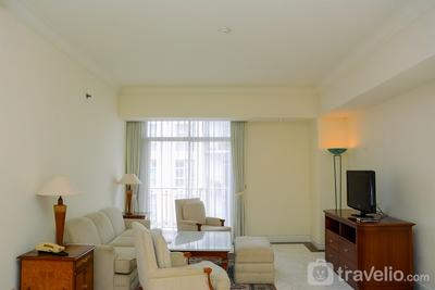 Chic and Cozy 1BR at Menteng Executive Apartment By Travelio
