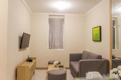 Best Deal 2BR Apartment at Grand Palace Kemayoran By Travelio
