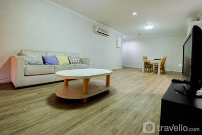 Spacious 3BR with Sea View Menara Marina Apartment By Travelio