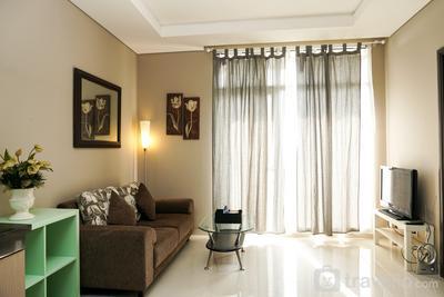 Exclusive 1BR Ciputra International Apartment By Travelio