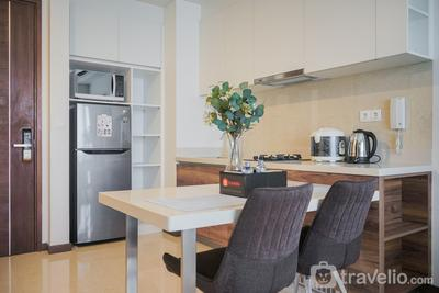 Comfortable 1BR Apartment at Marigold Nava Park By Travelio