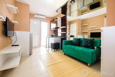 Luxurious 2BR Bassura City Apartment with Mall Access By Travelio