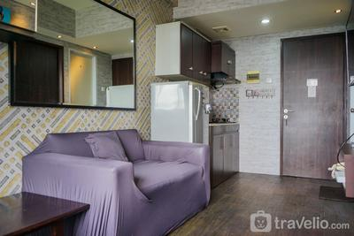 Relieved 1BR Apartment at Serpong Greenview By Travelio