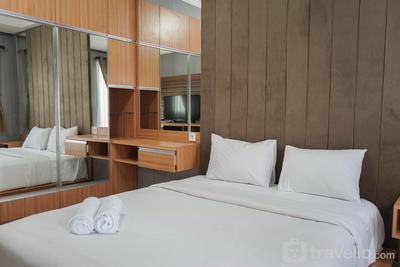 Simple Studio Apartment at Signature Park Grande MT Haryono By Travelio