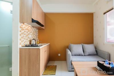 2BR Apartment Green Pramuka City near Shopping Mall By Travelio