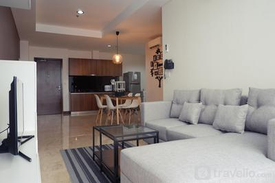 Deluxe 2BR L'Avenue Apartment for 4 Pax By Travelio