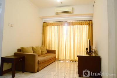 Cozy 3BR at Puri Garden Apartment near to Puri Indah By Travelio
