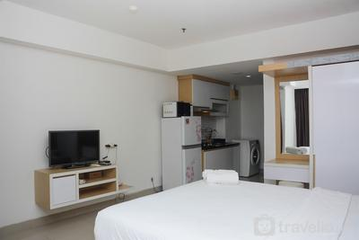 Strategic Location with New Furnished at Studio H Residence Apartment By Travelio