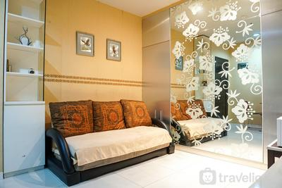 1BR Apartment at Cosmo Mansion near Grand Indonesia By Travelio