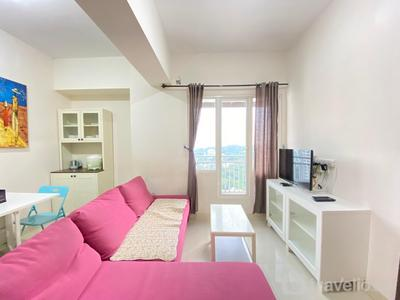 Stylish & Comfy 2BR Apartment Galeri Ciumbuleuit 2 near Nara Park By Travelio