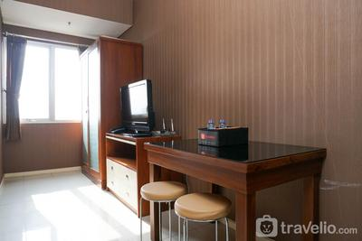Beautiful Studio at Cosmo Terrace Apartment By Travelio