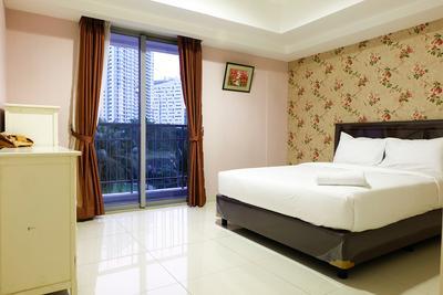 1BR Homey The Mansion Apartment Near Golf  Kemayoran By Travelio