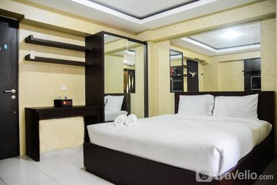 Warm and Homey Studio Kebagusan City Apartment By Travelio