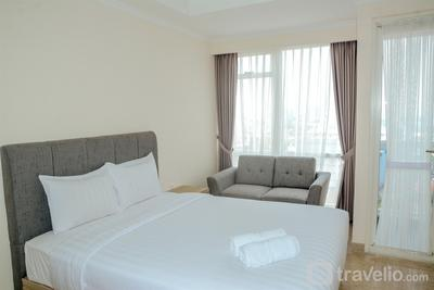 Elegant Studio Apartment @ Menteng Park By Travelio