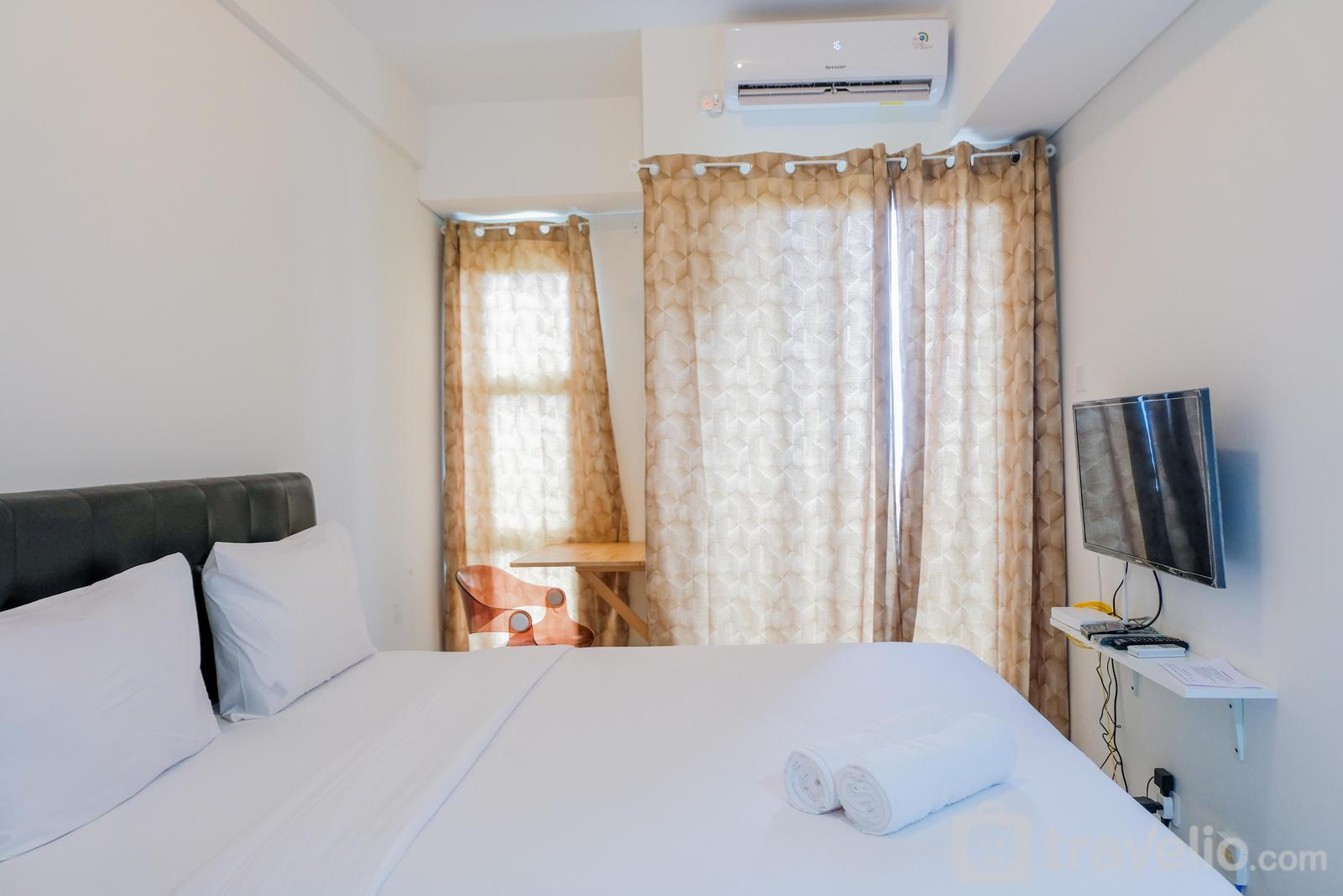 Akasa Pure Living BSD  - Spacious Studio Akasa Pure Living Apartment BSD By Travelio