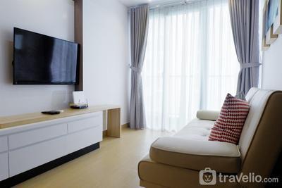 Futuristic 1BR Casa De Parco Apartment near ICE BSD By Travelio
