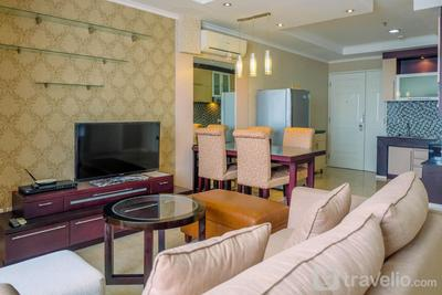 Strategic 2BR Apartment with City View at FX Residence By Travelio