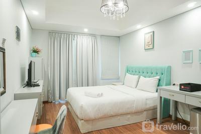 Simply Best and Homey Studio Royal Mediterania Garden Apartment By Travelio