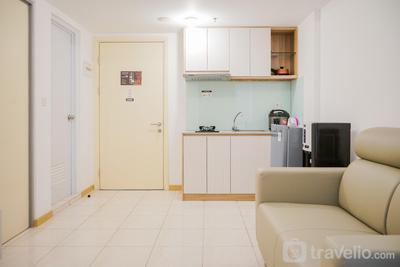 Comfy 2BR M-Town Residence Gading Serpong Apartment By Travelio
