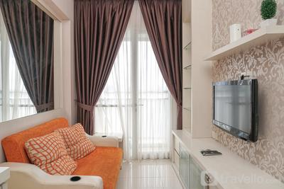 Good Location 1BR Apartment at Westmark Tanjung Duren By Travelio