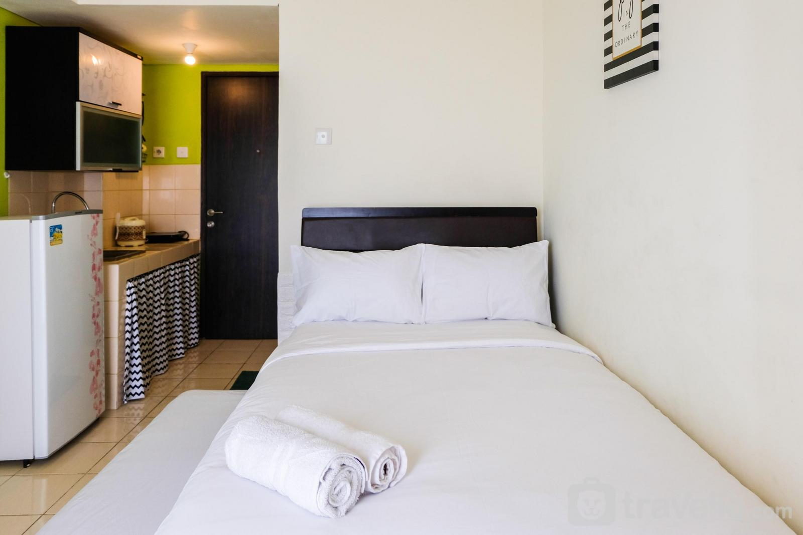 Serpong Greenview - Cozy Studio Serpong Greenview Apartment By Travelio