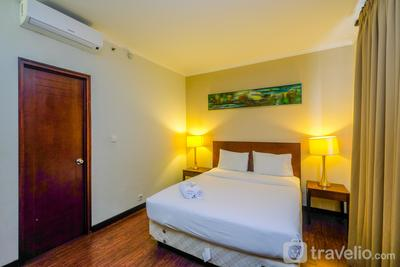 1BR Queen Bed Apartment near Dufan at Ancol Marina By Travelio