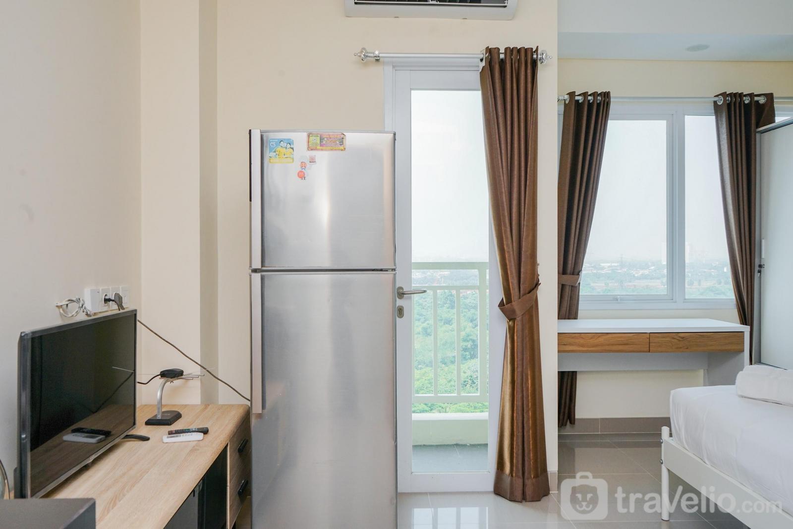 Apartemen B Residence - Minimalist Studio Apartment at B Residence near Aeon Mall BSD By Travelio