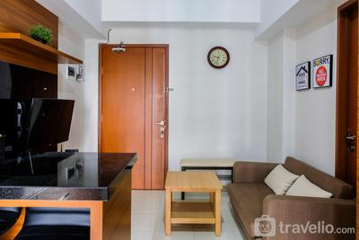 Elegant 1BR at Green Lake View Apartment By Travelio