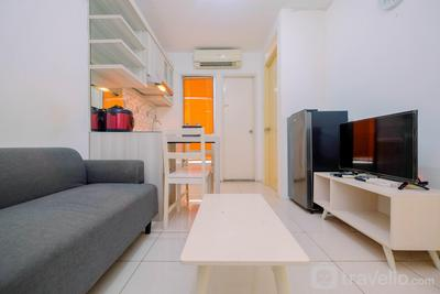 Relax 2BR Low Floor at Kalibata City Apartment By Travelio