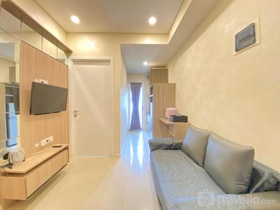 Pleasant 1BR Apartment at Parahyangan Residence near UNPAR By Travelio