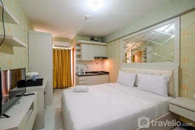 Relax and Homey Studio Room at Cinere Resort Apartment By Travelio