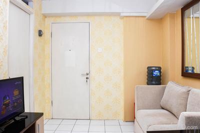 Cozy Living 2BR at Kalibata City Apartment By Travelio