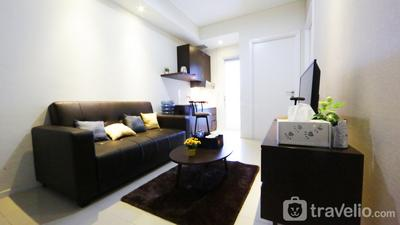 Clean and Cozy 2BR Apartment @ Parahyangan Residence By Travelio