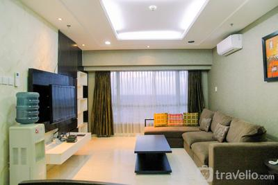 Spacious 3BR Apartment at Permata Berlian Residence By Travelio